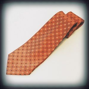 Perry Ellis Portfolio Men's Tie 100% Silk EUC